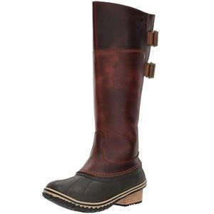 Sorel Slimpack Riding Tall II Boot Chestnut 8.5